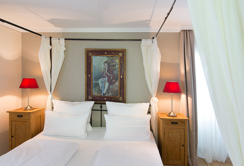 Modern double room in Hotel Amadeus in the heart of Salzburg